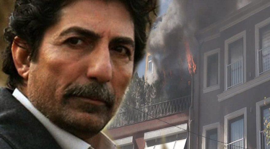 Mustafa Uğurlu'nun Cihangir'deki evinde yangın