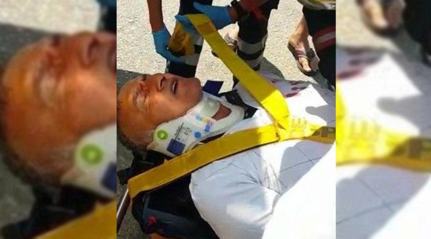Ünlü oyuncu Mustafa Alabora trafik kazası geçirdi