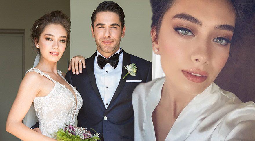 Neslihan Atagül'ün düğün makyajı