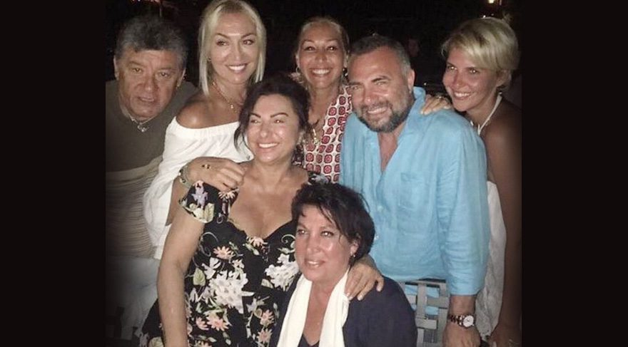 Oktay Kaynarca dostlarıyla buluştu