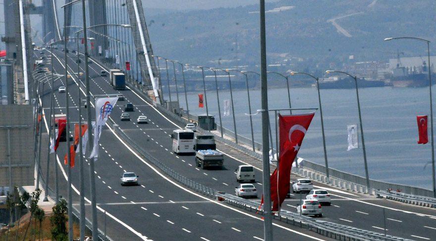 Osmangazi Köprüsü dünyanın en pahalı geçiş ücretine sahip