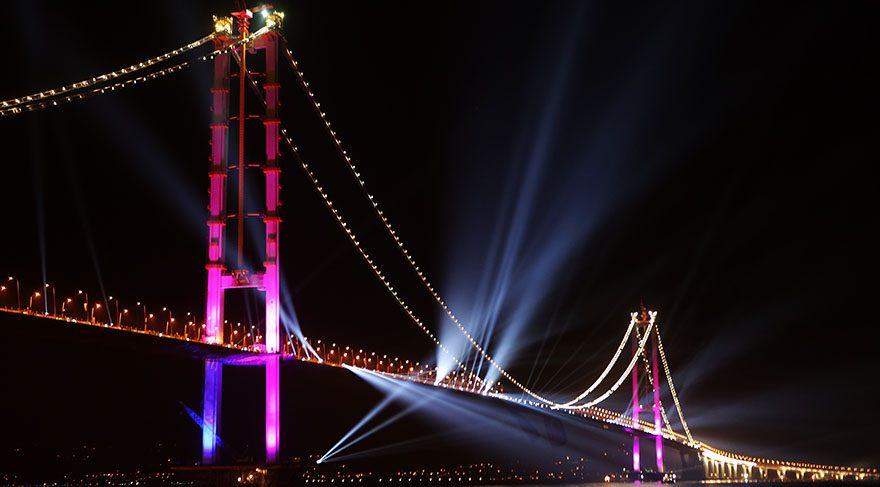 Osmangazi Köprüsü'nün doğum haritası