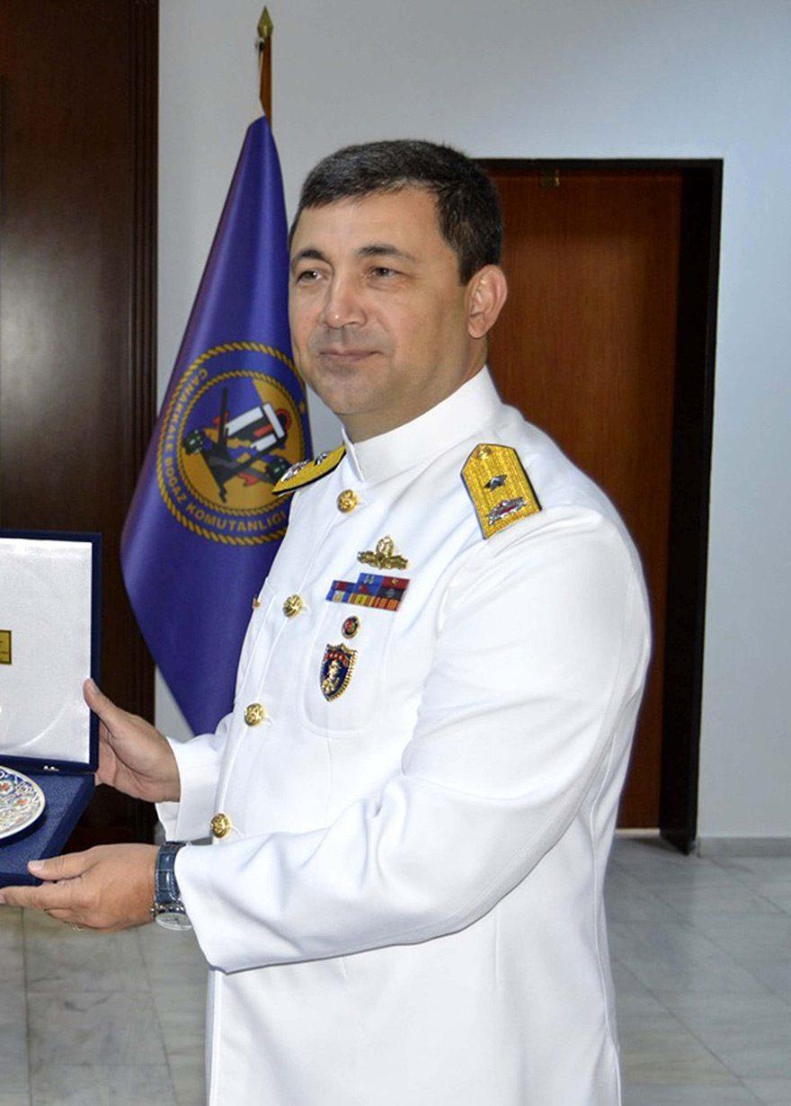 Çanakkale Boğaz ve Garnizon Komutanı Tuğamiral Gündoğdu gözaltına alındı