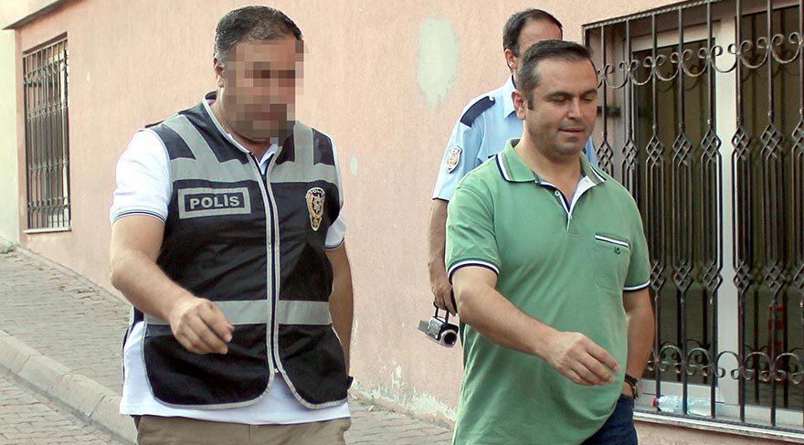 Darbe girişiminin ardından başlatılan soruşturma kapsamında Kayseri'de gözaltına alınan polisler sağlık kontrolüne getirildi.