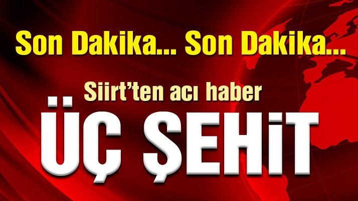 Terör örgütü PKK'dan askere bombalı tuzak! 3 Şehit