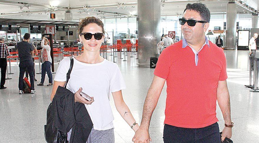 Sinem Öztürk eşiyle birlikte tatile gitti
