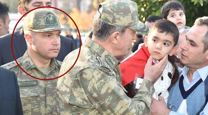 FOTO:DHA - Hulusi Akar'ın yaveri Levent Türkkan da 15 temmuz darbe girişimned yer aldığı ididasıyla tutuklanmıştı.