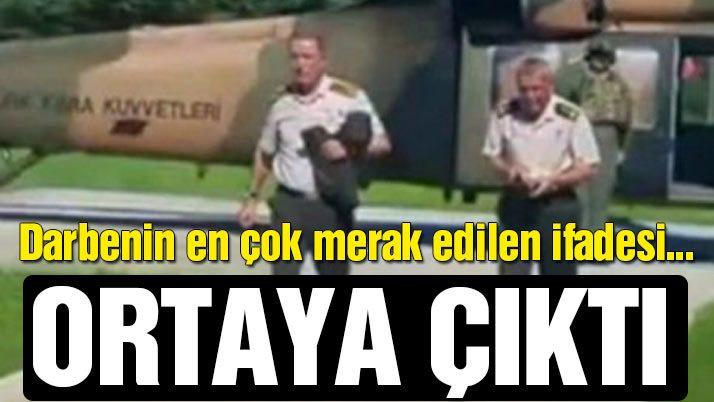 Tümgeneral Mehmet Dişli'nin ifadesi ortaya çıktı