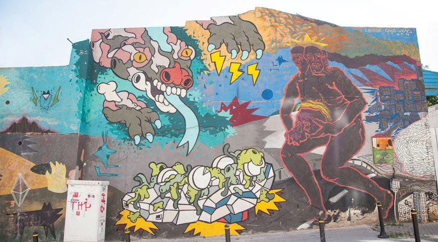 Mural İstanbul Street Art Festival 5. yılını kutluyor
