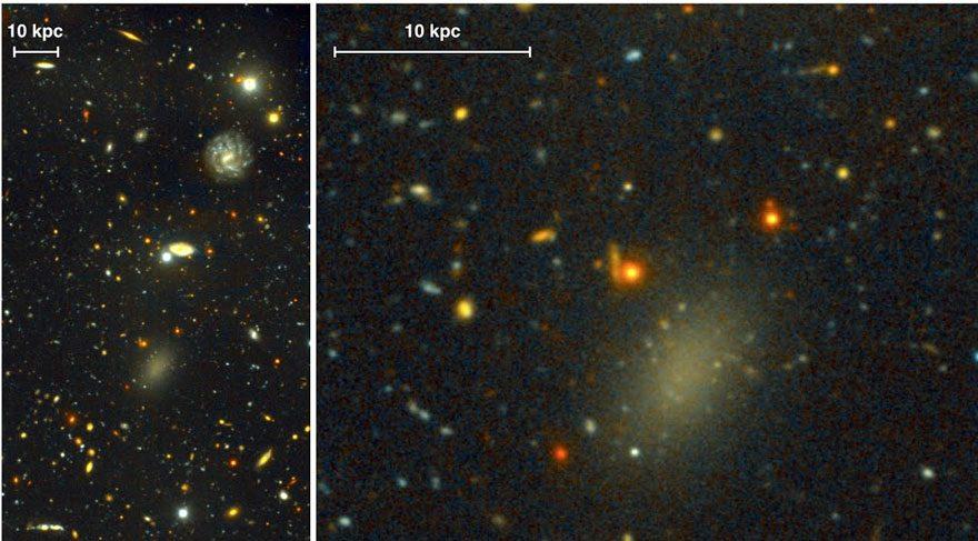 Samanyolu Galaksisi'nin kayıp karanlık ikizi Dragonfly 44 ile tanışın