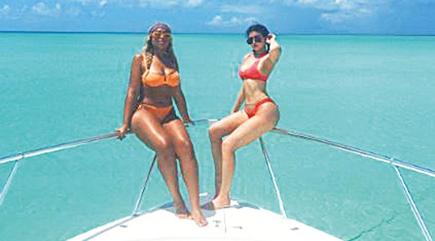 Kardashian'lar Bahamalar'da