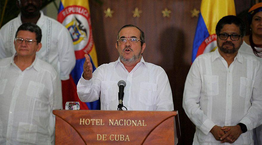 Son dakika… Kolombiya'da FARC'tan nihai ateşkes