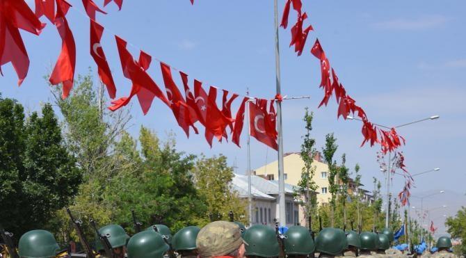 Erzurum'da Zafer coşkusu