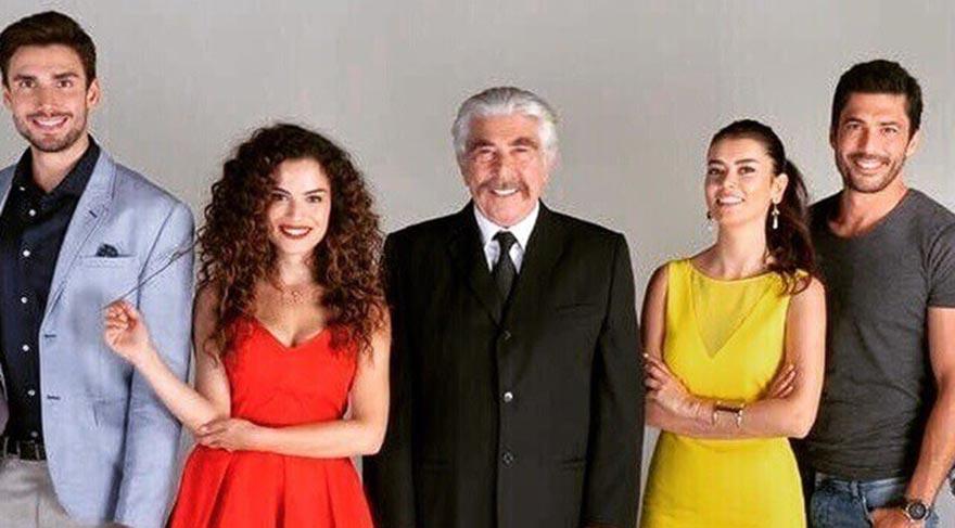 Bekiroğlu ve Kunt, Erdal Özyağcılar'la aynı dizide olmanın büyük şans olduğunu söylüyor.
