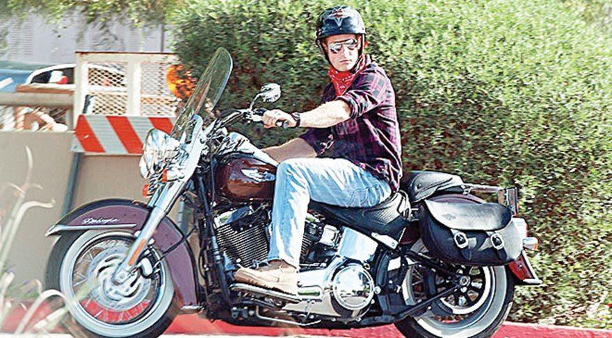 Prensin motosiklet tutkusu