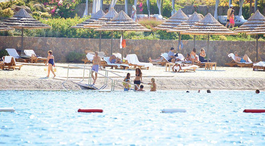 Bodrum tatilcileri ağırlıyor