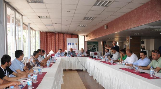 DİTAM Hakkari'de STK'larla toplantı yaptı