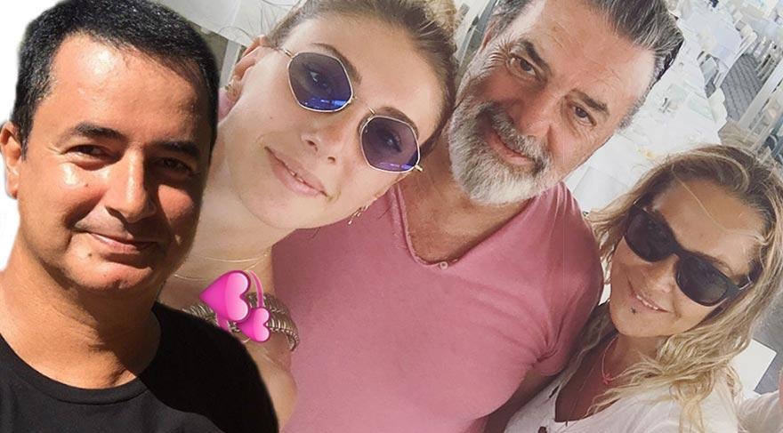 Acun Ilıcalı ve Şeyma Subaşı Hülya Avşar ve Ali Taran'la buluştu