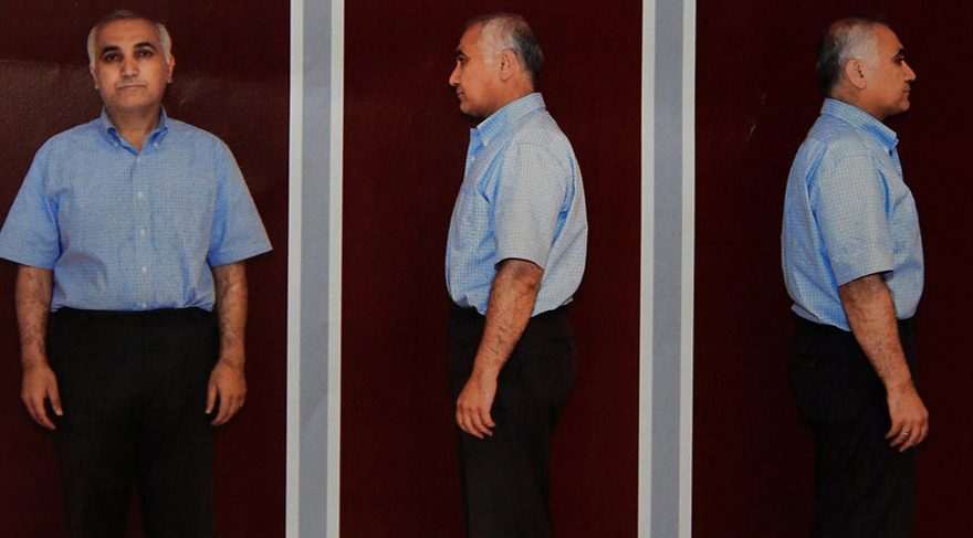 Adil Öksüz'den geriye gözaltında çekilen bu fotoğrafları kaldı.