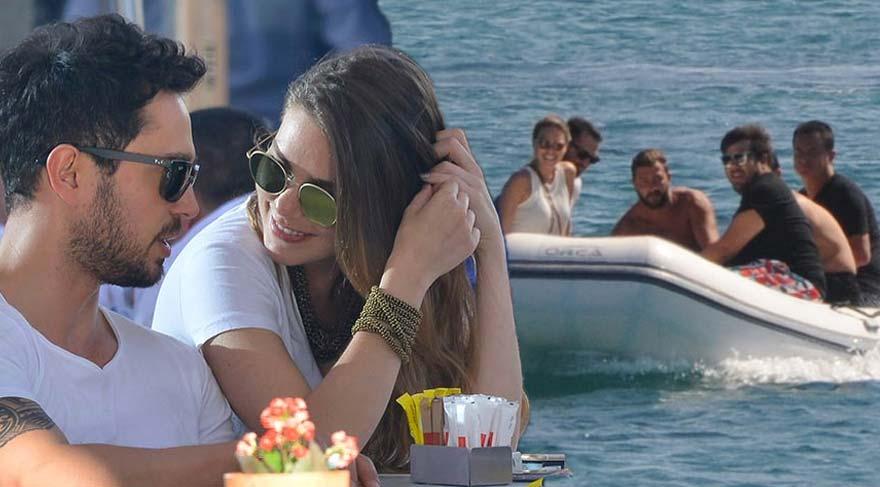 Aslı Enver ve Murat Boz Acun Ilıcalı'nın teknesinde