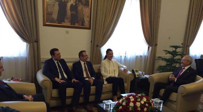 AK Parti milletveillerinden Kılıçdaroğlu'na teşekkkür ziyareti