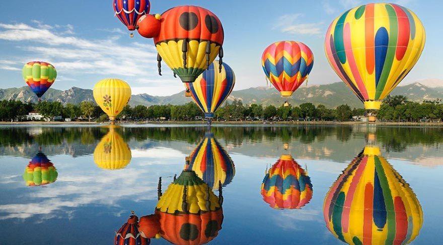 Dünyanın En Renkli Balon Festivalleri