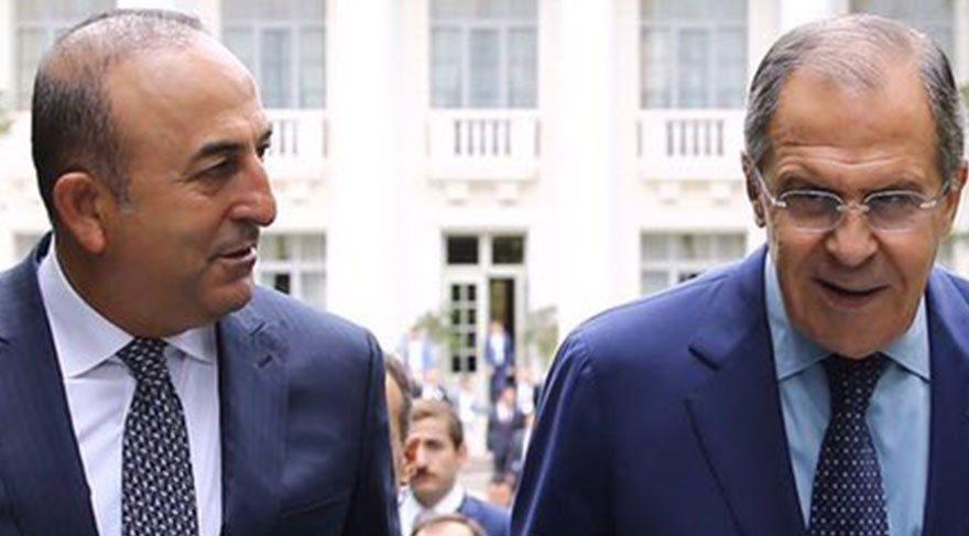 Çavuşoğlu ve Lavrov arasında kritik görüşme