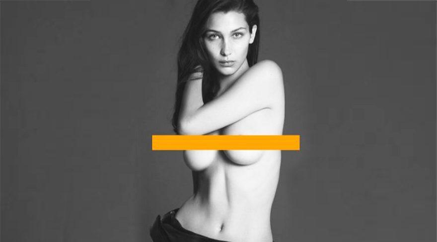 Bella Hadid Vogue Paris kapağında