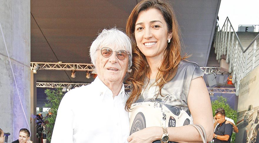 Ecclestone'un eşi Fabiana Flosi, annesini kurtaran polislere teşekür etti.