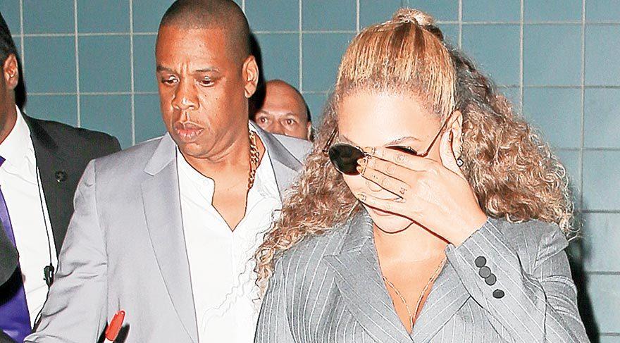Beyonce ve eşi bir örnek
