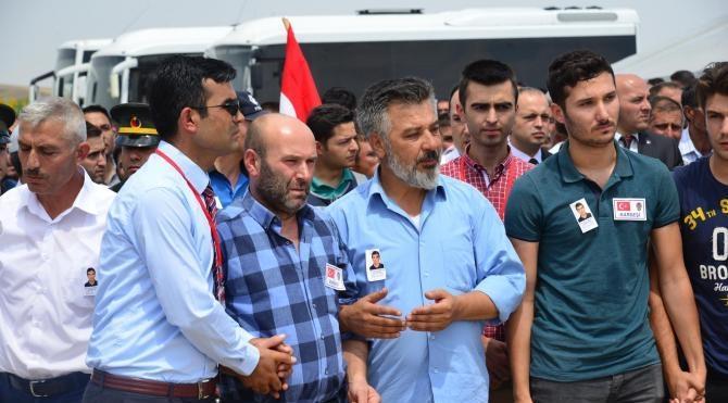 Şehit polis memuru Kırşehir'de toprağa verildi