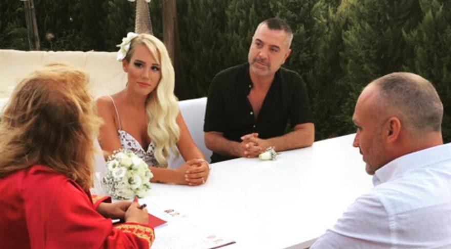 Erdal Acar Kardelen Ergin'le evlendi