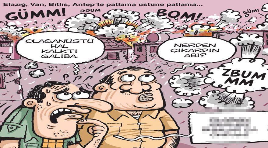 Gırgır bu haftaki kapağına terör saldırılarını taşıdı