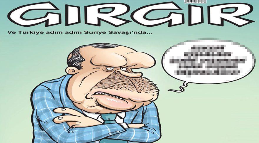 Gırgır'ın bu haftaki kapağında şehir dışına çıkarılan askeri kışlalar var