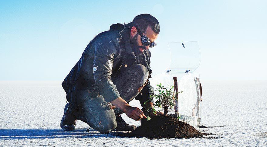Gökhan Türkmen'den küresel ısınmaya karşı klip