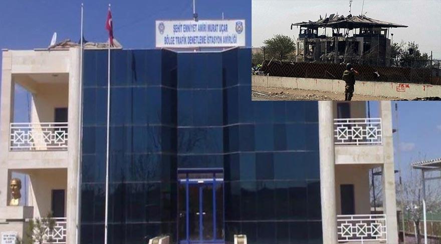 FOTO:İHA - Bina patlama sonrası harabeye döndü.