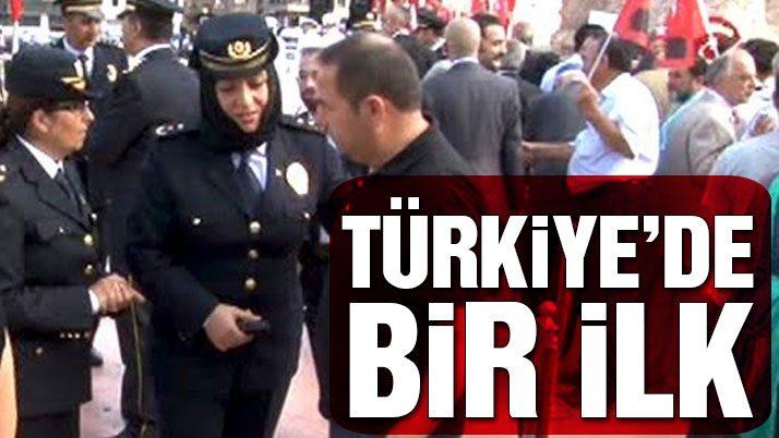 Taksim'de 30 Ağustos töreni