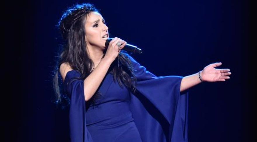 Eurovision birincisi destek için Türkiye'de!