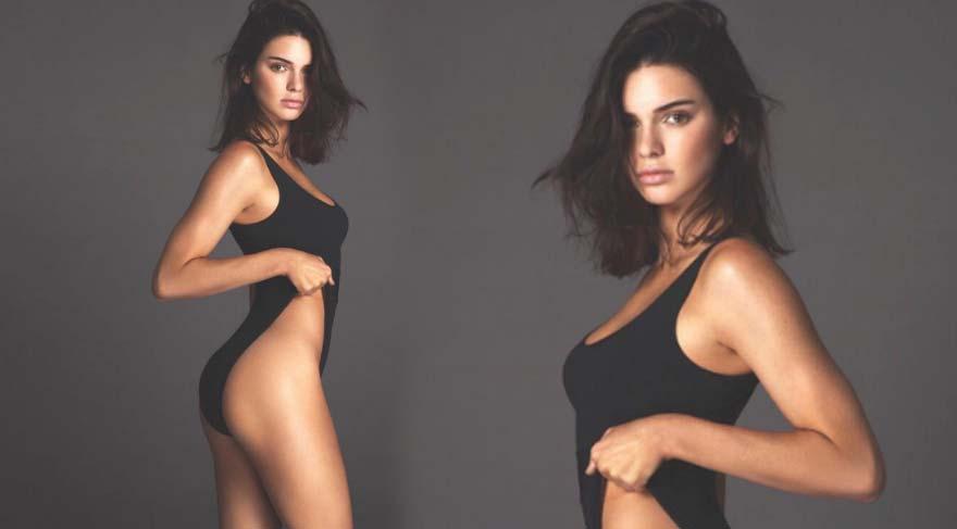 Kendall Jenner'in yayınlanmamış fotoğrafı