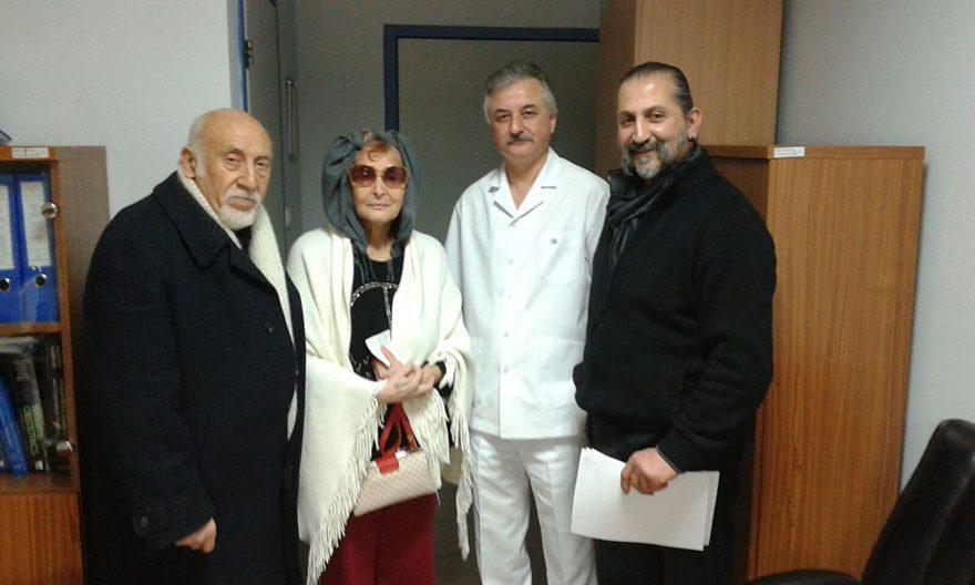 SESAM Başkanı Yılmaz Atadeniz, Leyla Sayar, Dr. Haluk Bacanakgil, Cengiz Güçlü