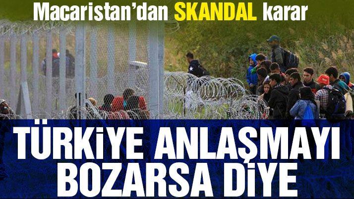 Macaristan, 'Türkiye anlaşmadan cayarsa' diye sınıra ikinci tel örgüyü çekecek