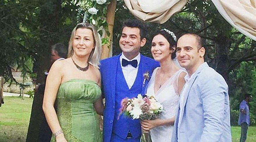 Murat Eken ve Gizem Önen evlendi