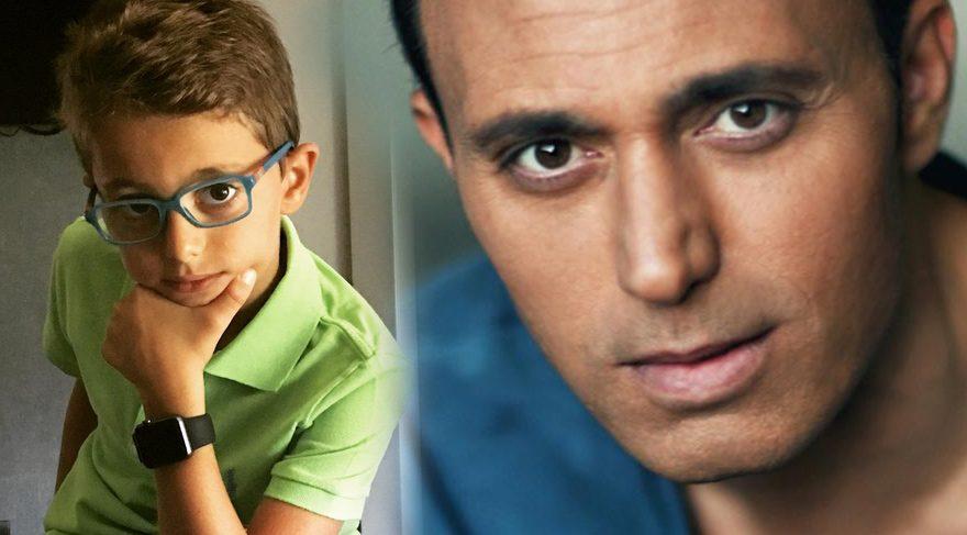 Mustafa Sandal oğlunun yeni yaşını şu sözlerle kutladı