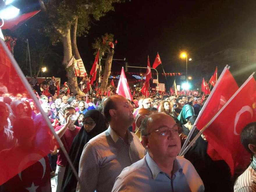 Foto: DHA - Gözaltına alınan Ahmet Küçükbay'ın demokrasi mitinglerine katıldığı ortaya çıktı