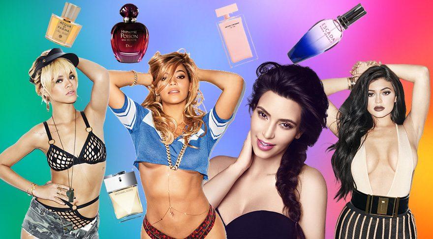 Ünlüler hangi parfümü kullanıyor?