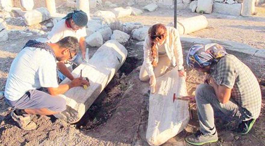 Patara'da Pers dönemi ilk kez belgelendi