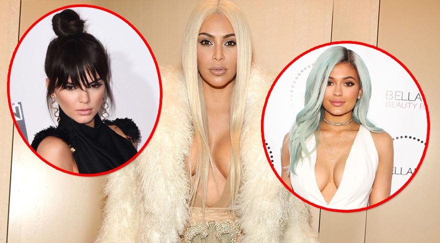 Kardashian/Jenner ailesinin saçları peruklu çıktı