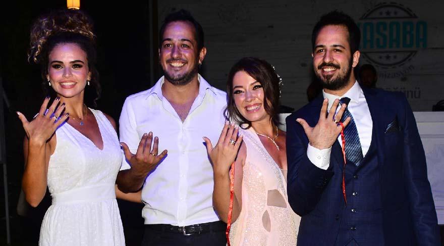 Sarp Apak'ın kardeşi nişanlandı
