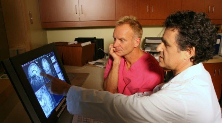 Bilim insanları müzik yaparken ünlü sanatçı Sting'in beynini inceledi
