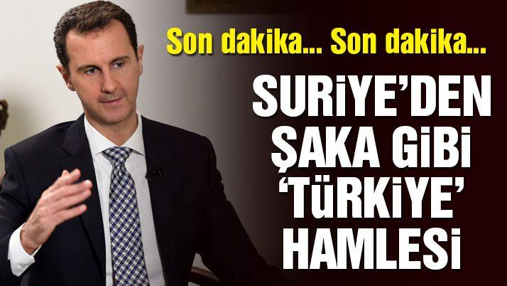 Son dakika… Suriye Türkiye'yi BM'ye şikâyet etti!